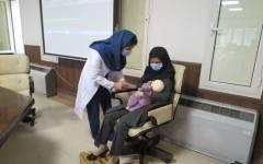 برگزاری کارگاه ترویج تغذیه با شیر  مادر در بیمارستان بهمن
