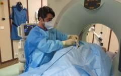 درمان توده کبد با امواج ماکروویو در بخش تصویربرداری بیمارستان بهمن