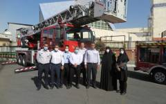 تقدیر تیم ایمنی و بحران بیمارستان بهمن از زحمات آتش نشانان به مناسبت روز آتش نشانی و ایمنی